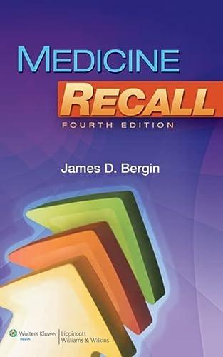 9781605476759: Medicine Recall (Recall Series)