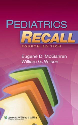 9781605476766: Pediatrics Recall (Recall Series)