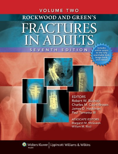 9781605476773: Rockwood and Green's Fractures in Adults: Two Volumes Plus Integrated Content Website (Rockwood, Green, and Wilkins' Fractures) (Fractures in Adults (Rockwood and Green's))