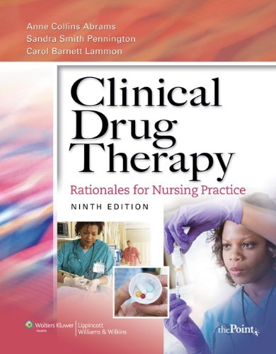 9781605477794: Clinical Drug Therapy + Study Guide Package