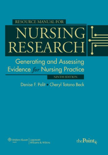9781605477824: Resource Manual for Nursing Research: Generating and Assessing Evidence for Nursing Practice