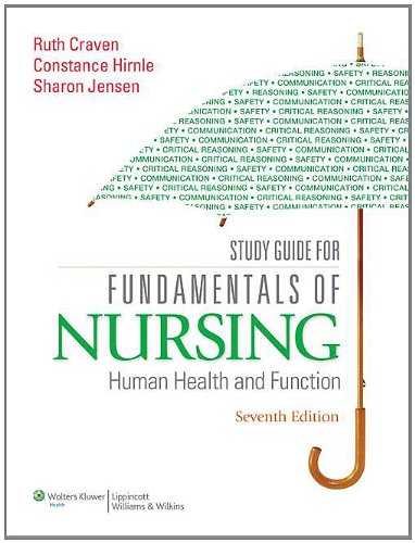 9781605477831: Study Guide for Fundamentals of Nursing: Human Health and Function