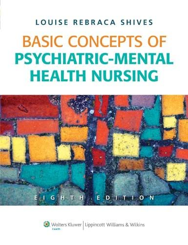 9781605478876: Basic Concepts of Psychiatric-Mental Health Nursing