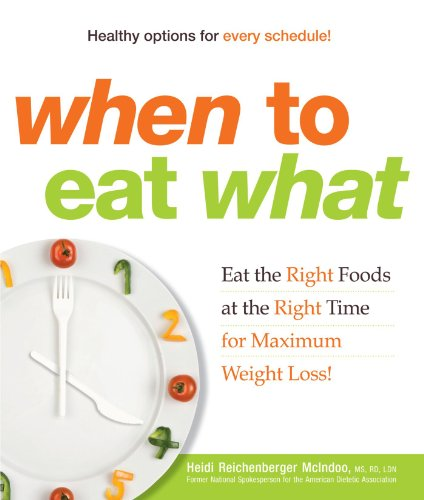 9781605501031: When to Eat What: Eat the Right Foods at the Right Time for Maximum Weight Loss!