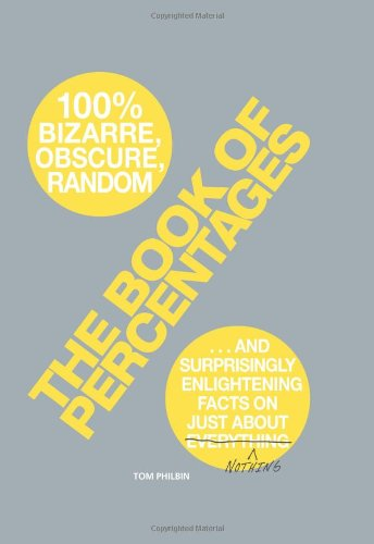 9781605501086: The Book of Percentages: Over 500 bizarre, obscure, random, surprising, and 100% enlightening facts on just about everything nothing