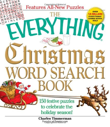 9781605506722: The Everything Christmas Word Search Book: 150 festive puzzles to celebrate the holiday season!