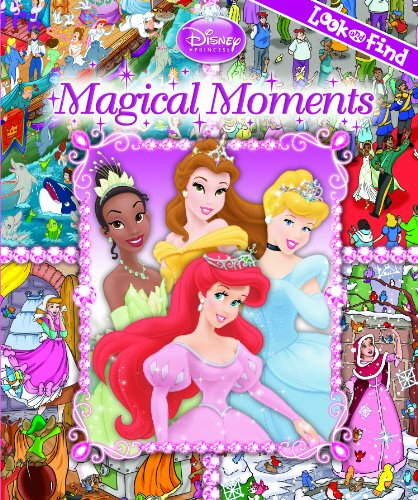 9781605530642: Disney Princess Magical Moments Look and Find