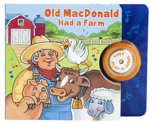 9781605531465 Old MacDonald Had A Farm Tiny Play Song Book
