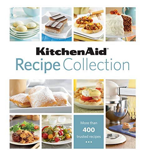 KitchenAid Recipe Collection 9781605532486 This KitchenAid Recipe Collection binder features more than 400 recipes from one of the most trusted names in cooking. This all-encompassing cookbook opens a world of culinary possibilities. In addition to the hundreds of recipes, it contains an extensive glossary of cooking terms that will help budding chefs master or refine basic cooking skills, such as blanching, deglazing, and scalding. Every tool you ll need to become a master of the kitchen is included in the pages of this cookbook. The KitchenAid Recipe Collection is comprehensively divided into 20 categories: a glossary of cooking terms; breakfast and brunch; biscuits and scones; muffins and coffee cakes; appetizers; breads; salads; soups and stews; pasta; beef entrees; fish and seafood entrees; pork entrees; poultry entrees; vegetarian entrees; side dishes; brownies and bars; cakes, cupcakes, and frostings; cookies; pies, tarts, and cobblers; and desserts. Handy tabs make it easy to find a specific chapter, and each tab lists the chapter s recipes. Every full-page recipe has simple, numbered preparation steps and a helpful color photo. The book s hardcover, five-ring-binder format is designed for durability. The KitchenAid Recipe Collection lies flat for practical use in the kitchen, and each recipe can be removed by simply opening the binder rings. With so many recipes, the KitchenAid Recipe Collection is a must-have for novice and experienced cooks alike. Here is just a small sampling of the book s recipes: Orange-Cinnamon Rolls Minestrone Salad Mustard Crusted Rib Roast Drunken Roast Chicken Cocoa Brownies Lemon Drops