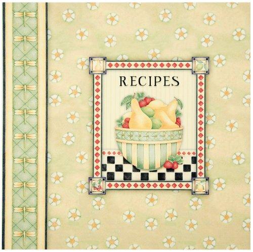 Pear Blossom Tabbed Recipe Binder (Debbie Mumm) (1605532983) by Editors of Publications International Ltd.