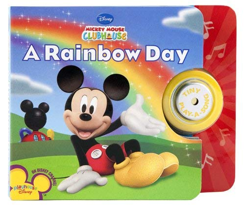 Mickey Mouse Clubhouse Tiny Play-a-Song Book (Play-A-Sound): Editors of Publications International,...