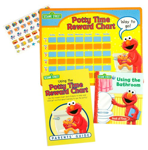 9781605534091: Elmo's Potty Time Book and Reward Chart