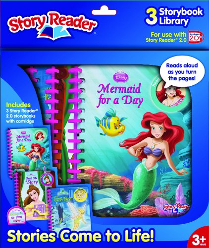 Story Reader 2.0 3-Book Disney Princess Library (1605534293) by Editors of Publications International Ltd.
