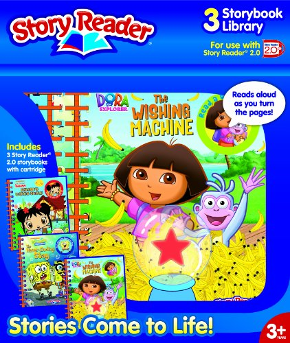 9781605534435: Story Reader 2 0 3-Book Nickelodeon Library: Dora the