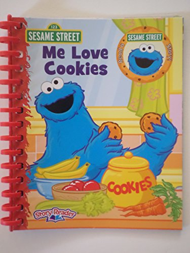 Me Love Cookies (Sesame Street Story Reader - Book Only): Mary Buri