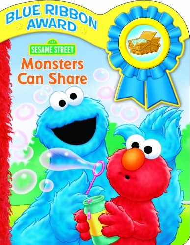 Sesame Street Monsters Can Share Sound Book (1605534641) by Editors of Publications International Ltd.