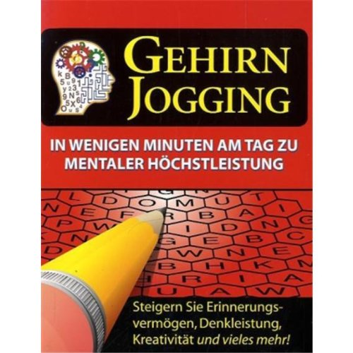 9781605534909: Gehirn Jogging (Rotes Cover)