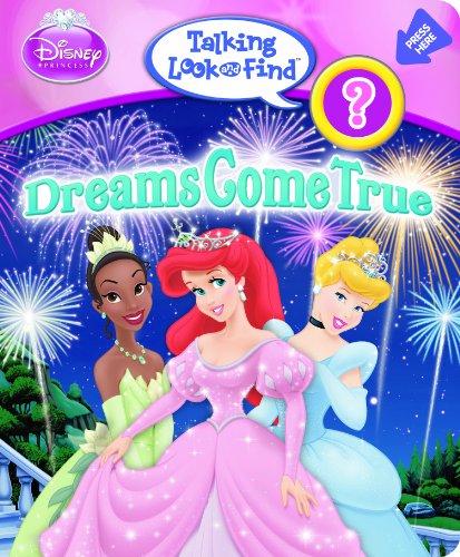 9781605535388: Talking Look and Find: Disney Princess, Dreams Come True