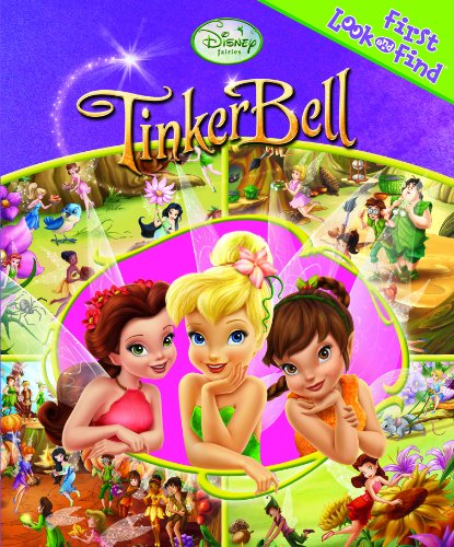 9781605536972: Disney Fairies: TinkerBell (First Look and Find Series)