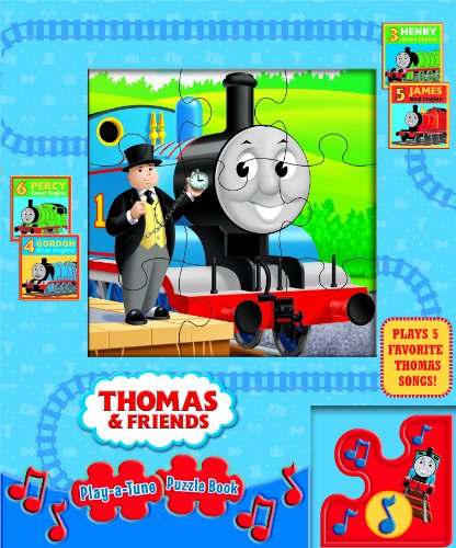 9781605537566: Thomas & Friends Play-a-Tune Puzzle Book