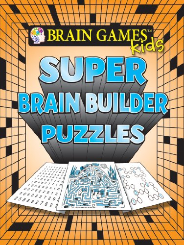 9781605537757: Brain Games for Kids: Super Brain Builder Puzzles