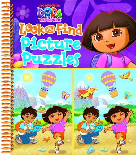 9781605537931: Dora the Explorer Look and Find Picture Puzzles
