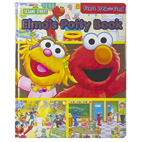 9781605538402: Elmo Potty Time My First Look And Find
