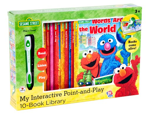 9781605538860: Sesame Street Point-and-Play and 10-Book Library