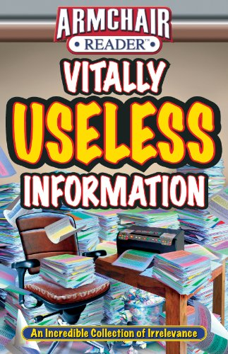 Armchair Reader: Vitally Useless Information: Jeff Bahr; Diane