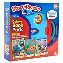 9781605539775: Story Reader 2.0 Disney Deluxe Book Pack: Mater's Amazing Adventures / Nemo's Big Race / Mickey's Mystery List