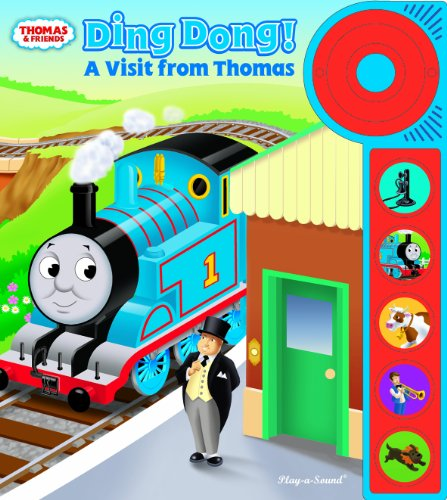 Play-a-Sound Doorbell Book, A Visit from Thomas & Friends (1605539856) by Editors of Publications International Ltd.; Created by Britt Allcroft