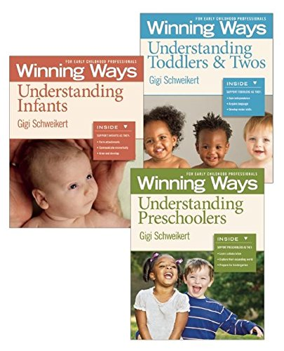 9781605541426: Understanding Infants, Toddlers & Twos, and Preschoolers Set: Winning Ways for Early Childhood Professionals