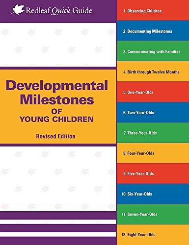 9781605544793: Developmental Milestones of Young Children (Redleaf Quick Guides)
