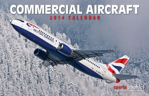 9781605550602: 2014 Commercial Aircraft Premium Wall Calendar