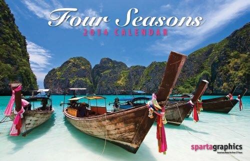 9781605550657: 2014 Four Seasons Premium Wall Calendar
