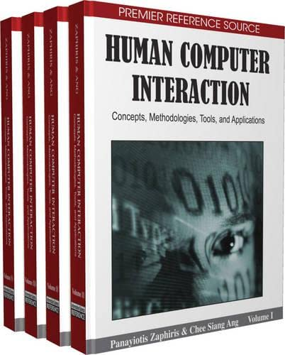9781605660523: Human Computer Interaction: Concepts, Methodologies, Tools, and Applications