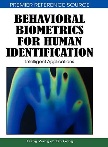 9781605667256: Behavioral Biometrics For Human Identification: Intelligent Applications