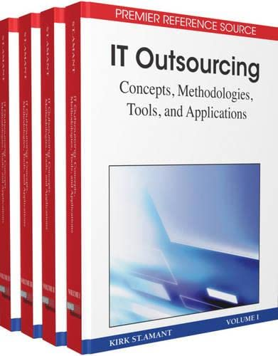 9781605667706: IT Outsourcing: Concepts, Methodologies, Tools, and Applications
