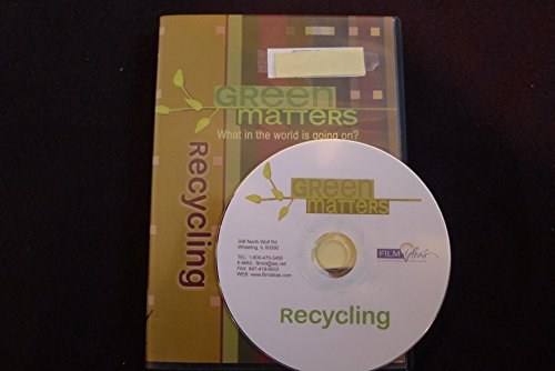 9781605721002: Green matters, What in the world is going on? - Recycling