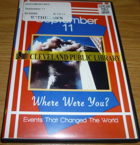9781605724676: September 11 Where Were You? Events That Changed the World Series