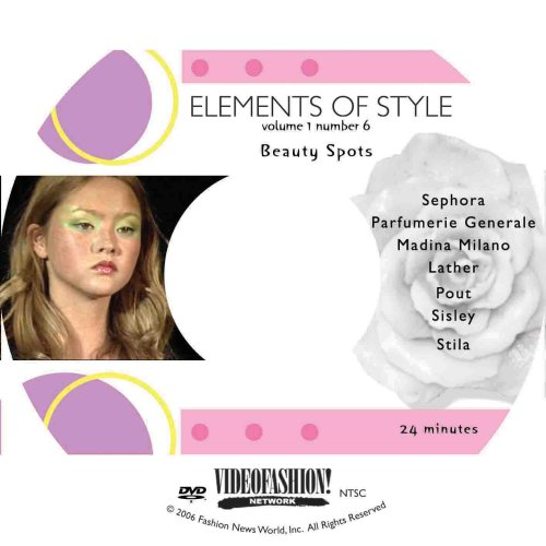 9781605750750: Elements of Style Volume 1 #6 - Beauty Spots