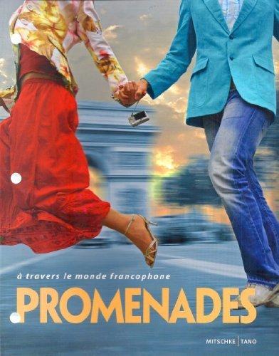 9781605761169: Promenades a travers le monde francophone (looseleaf)