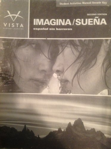 9781605761602: IMAGINA ESPANOL SIN BARRERAS WORKBOOK ANSWER KEY