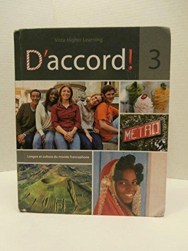 9781605763637: D' Accord! Level 3