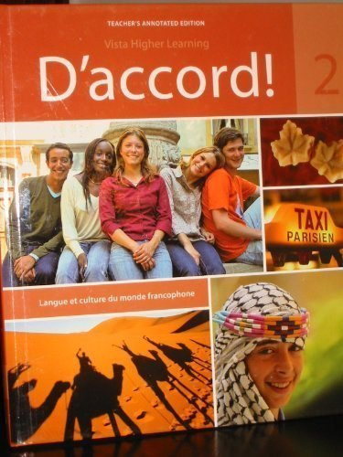 9781605763651: D'Accord!, Level 2 Teacher's Annotated Edition