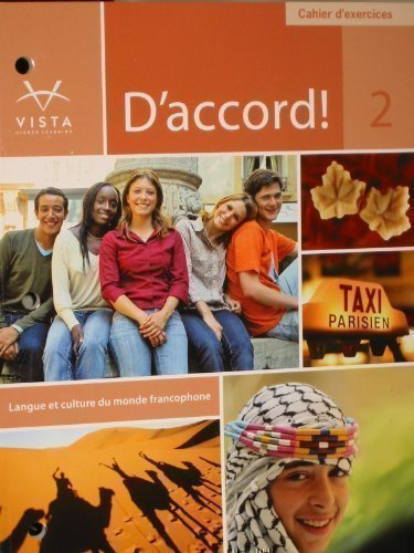 9781605765761: D'accord 2 Cahier D'exercices