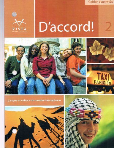 9781605765778: D'Accord!, Level 2 cahier d'activites