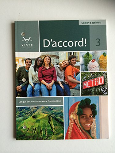 9781605765877: D'Accord 3 Cahier d'Activites (D'Accord 3)