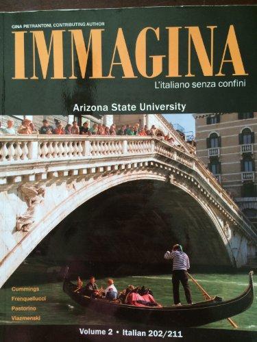 Immagina L'italiano senza confini Volume 1 Italian: Cummings