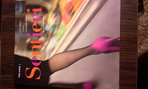 9781605767734: Sentieri Student Edition (W/O Supersite)